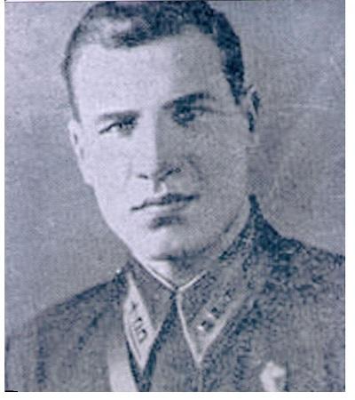 Герой Советского Союза капитан Куракин Николай Семенович