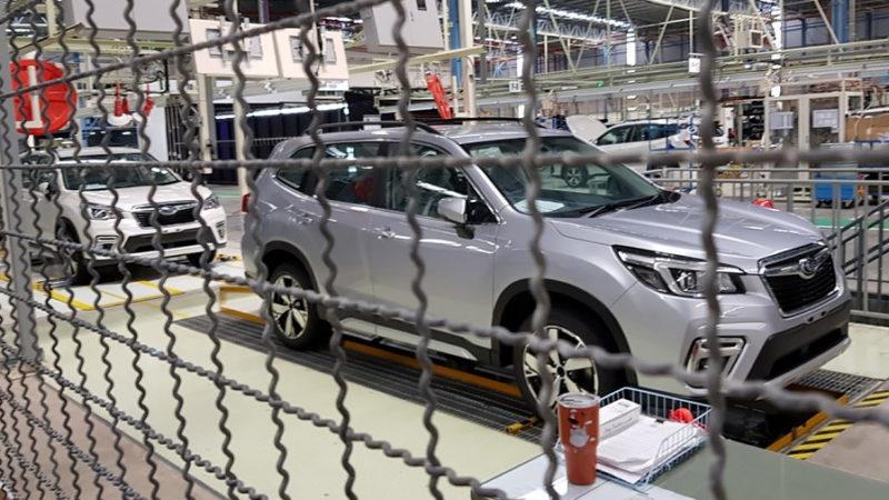 Subaru остановила все заводы в Японии из-за COVID-19