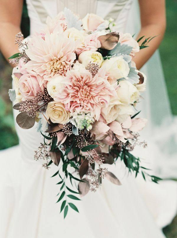 Модные свадебные букеты 2020-2021: новинки