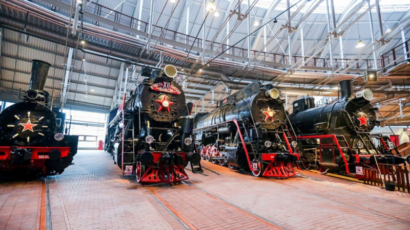 Музей железных дорог России представит железнодорожную технику времён ВОВ