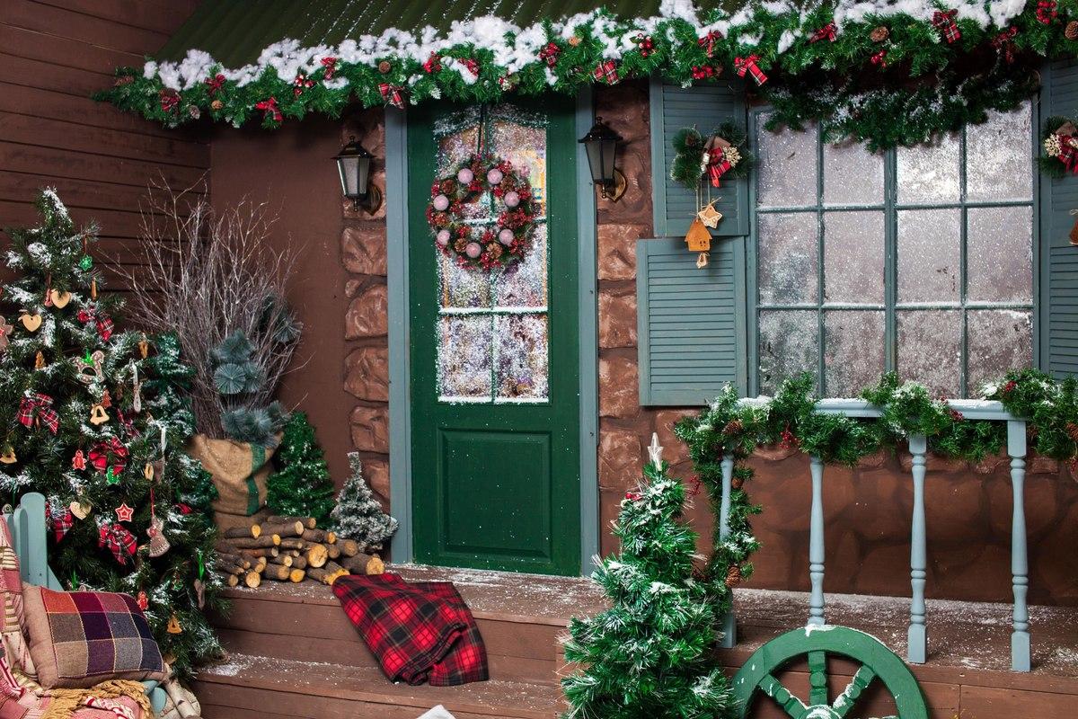 Давайте празднично украсим фасады, по-новогоднему оформим интерьеры