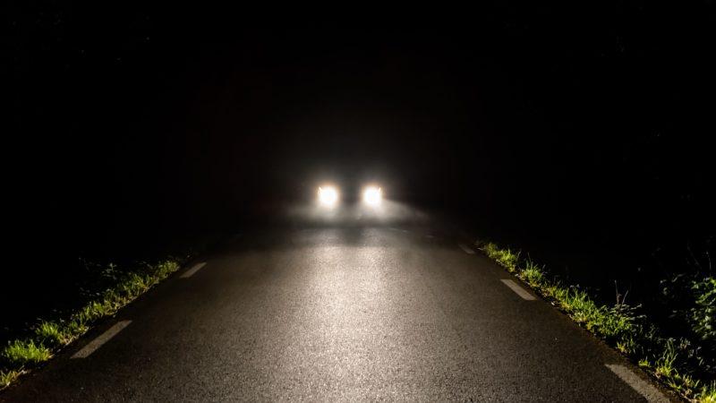 Дорогу сделали, а фонари забыли