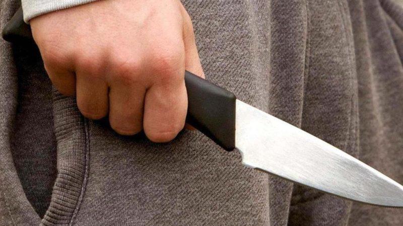 С ножом на соседа